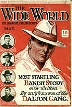Cover of the Wide World magazine